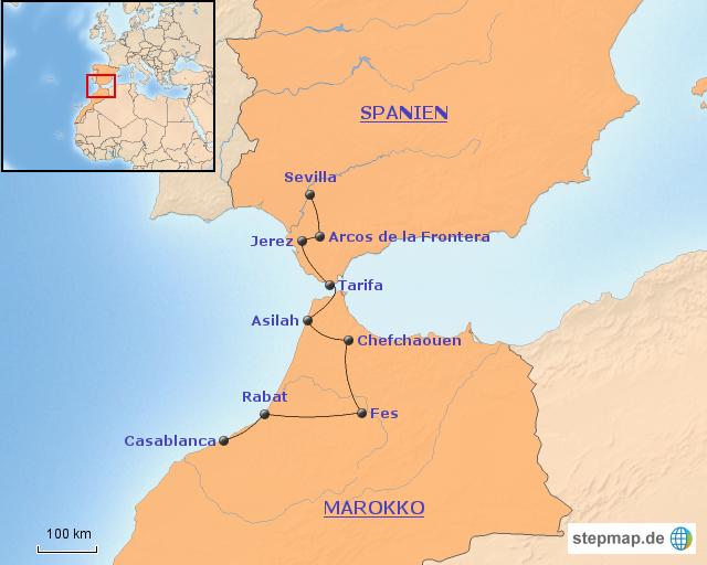 Spanien Afrika