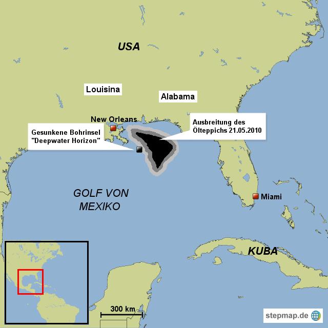 April Uhr (Ortszeit) – Ein Funke im Maschinenraum verursacht die Explosion der Ölplattform Deepwater Horizon und löst gleichzeitig die schwerste Ölpest in der US-Geschichte im Golf von Mexiko .