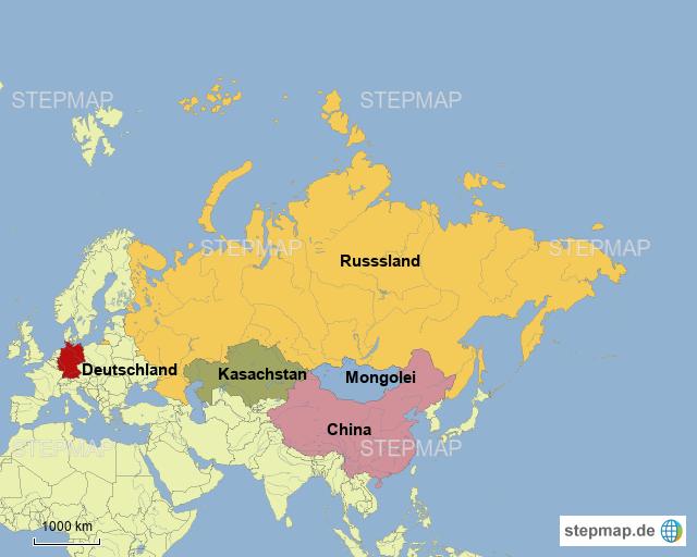baikalsee karte Baikalsee 3 von heikesusanne   Landkarte für Deutschland
