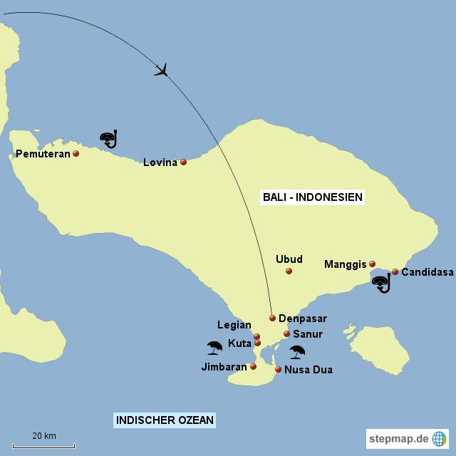 Bali Karte Asien.Bali Karte Skript Von Eichenberger Landkarte Für Asien