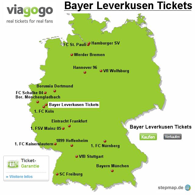 Karten Bayer Leverkusen
