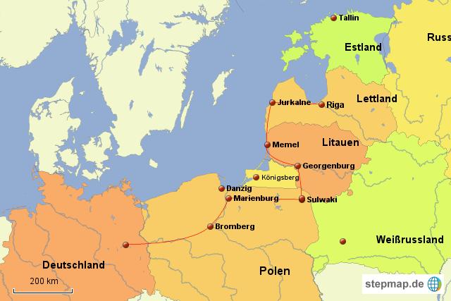 riga karte Berlin Riga von gabtincar   Landkarte für Deutschland