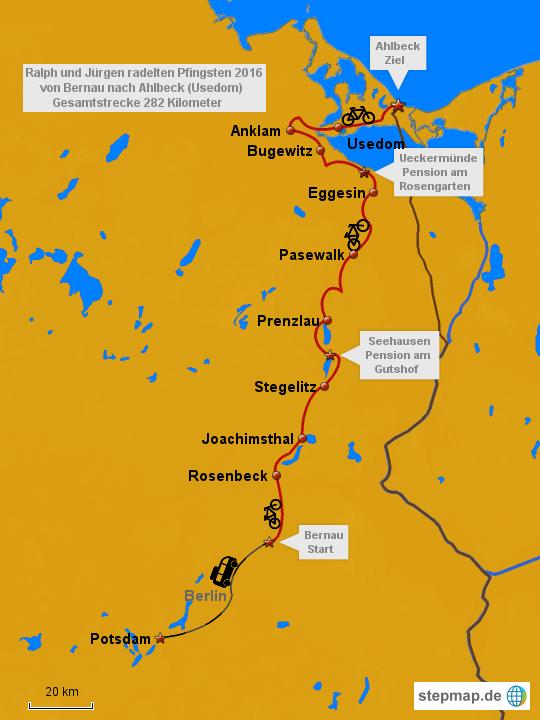 Usedom Karte Deutschland.Berlin Usedom Von Josi59 Landkarte Für Deutschland
