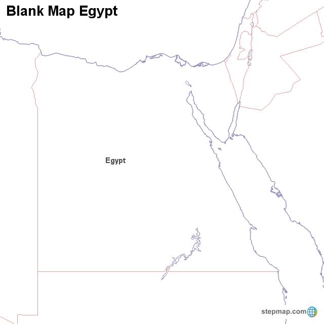 Pics Photos - Ancient Egypt Blank Outline Maps