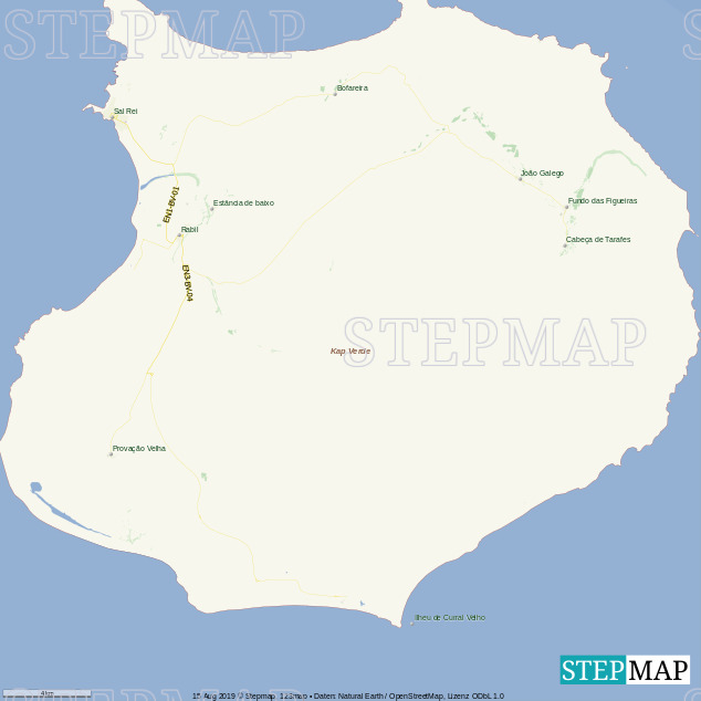 Boa Vista Karte