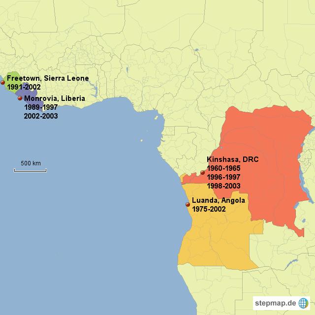 bürgerkriege in afrika
