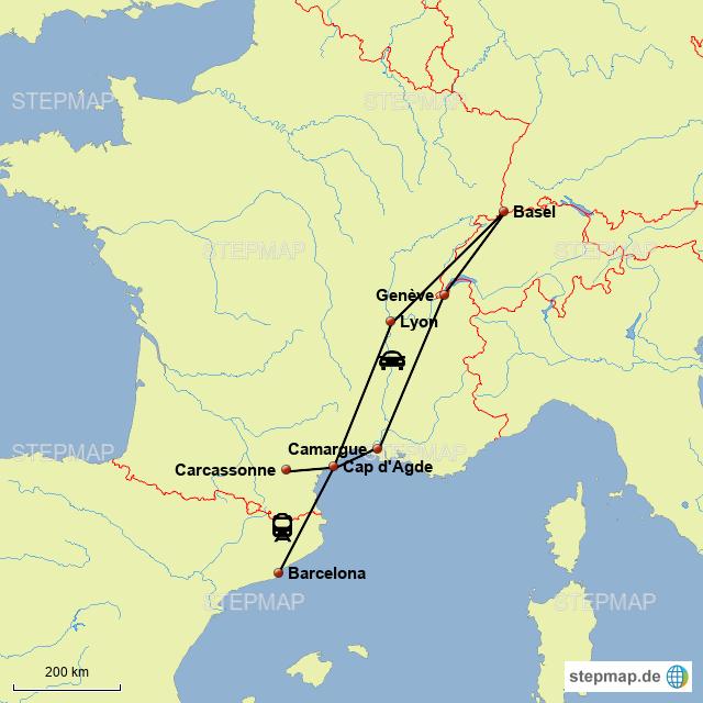 Camargue Karte.Camargue Von Eti46 Landkarte Für Deutschland