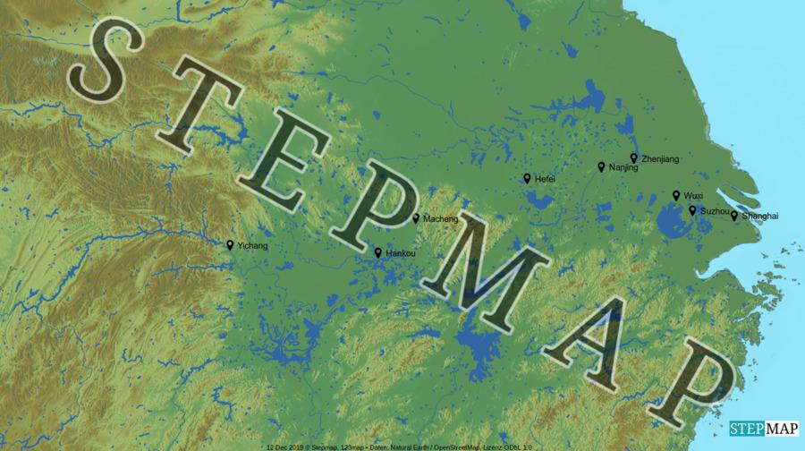 Landkarte: China