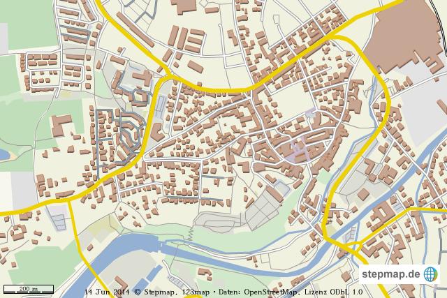 Dachau Stadt Von Melllou Landkarte F R Die Welt