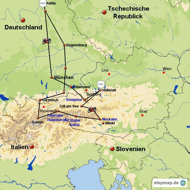 Dachstein Karte.Dachstein Von Norbet Landkarte Für österreich