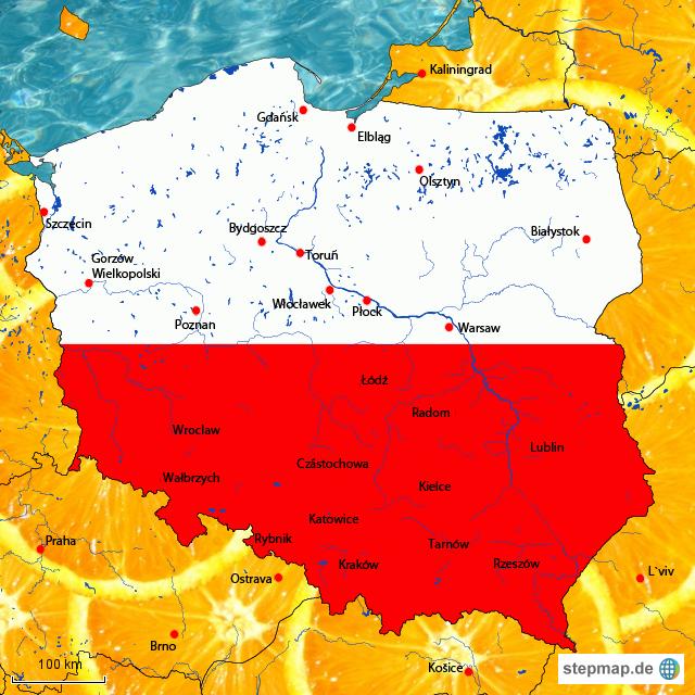 DC Map 4 von Dut1 - Landkarte für Polen
