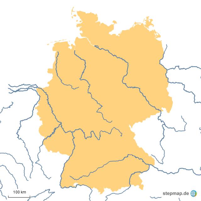 Wichtige Flüsse