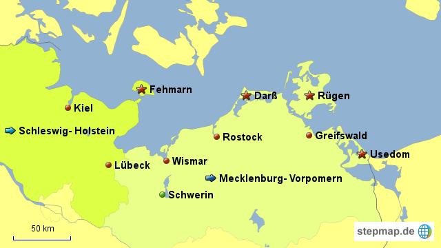 deutsche ostseeküste karte StepMap   deutsche Ostseeküste   Landkarte für Deutschland deutsche ostseeküste karte