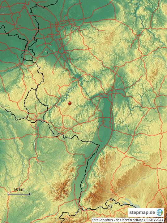 detuschland karte