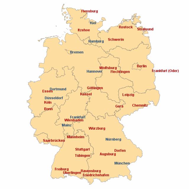 deutschland von n24 landkarte f r deutschland alle bundesl nder. Black Bedroom Furniture Sets. Home Design Ideas
