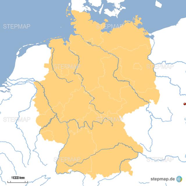 deutschland fl252sse von greta1111 landkarte f252r deutschland