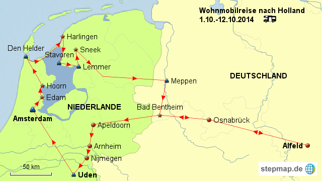 karte deutschland holland