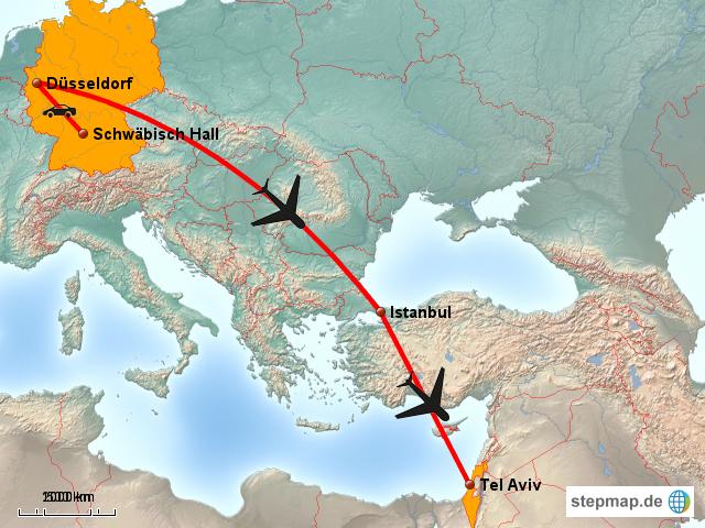 Von Frankfurt Nach Istanbul