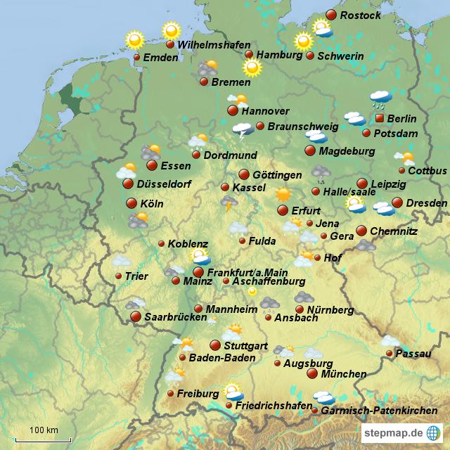 städte grösse deutschland
