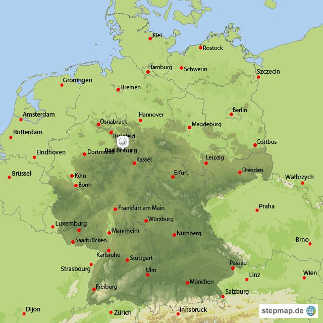 Deutschland deutschland alle bundesländer deutschland mit bad driburg