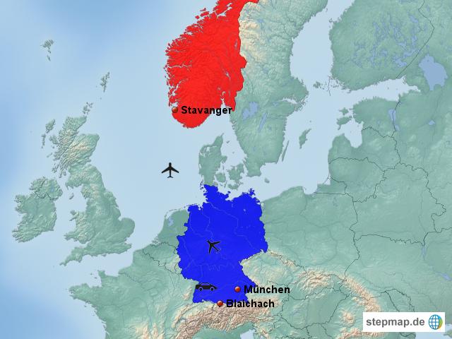 norwegen deutschland