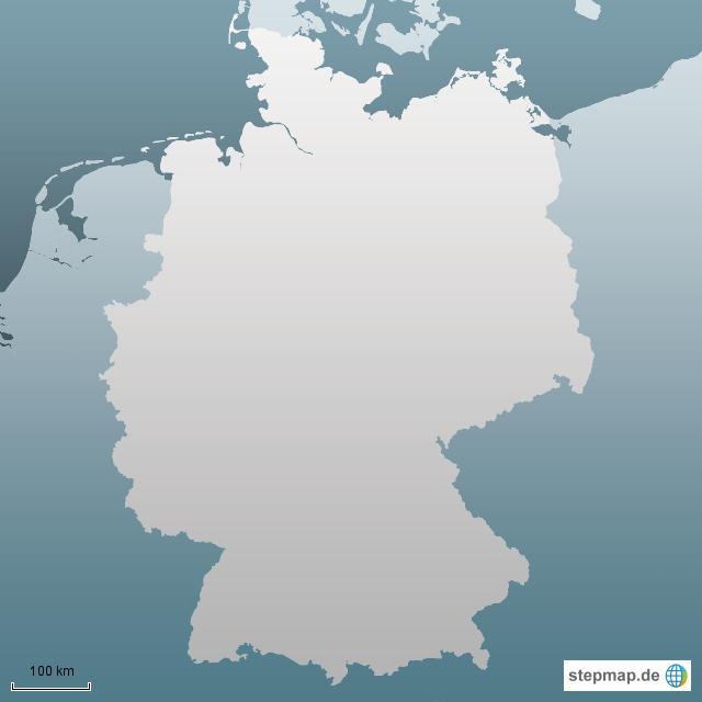 deutschlandkarte blanko Deutschlandkarte blanko von MichaelaWolf   Landkarte für Deutschland deutschlandkarte blanko