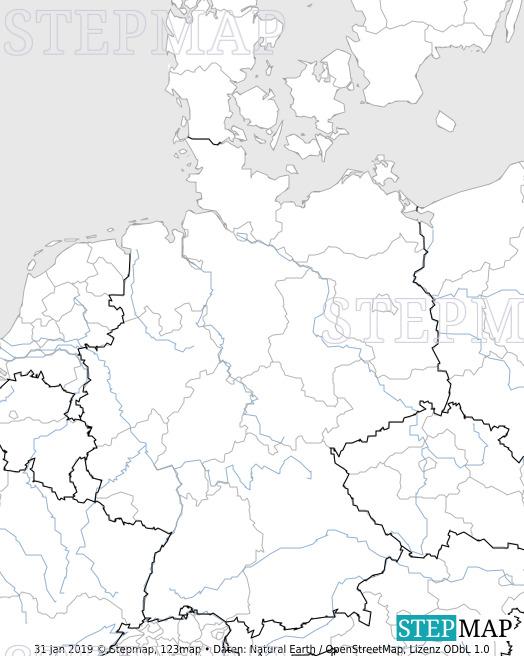 Stepmap Deutschlandkarte Test Landkarte Fur Deutschland