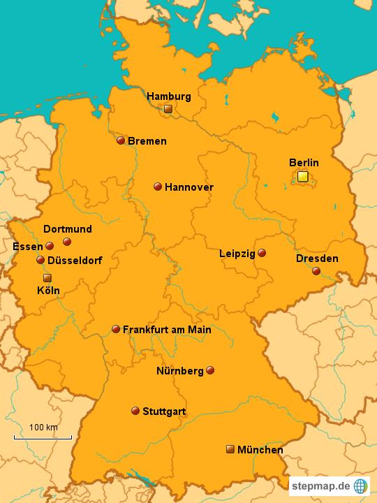 größte städte deutschlands einwohner