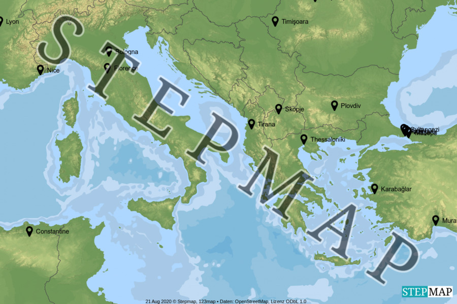 Landkarte: df