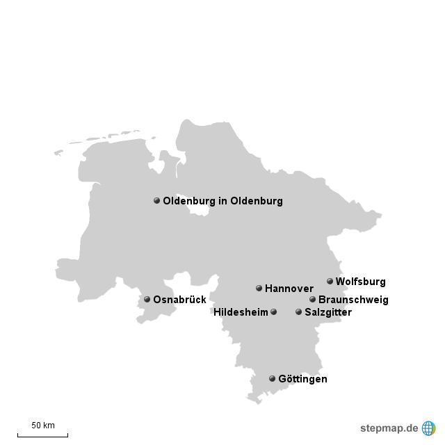 Niedersachsen größe