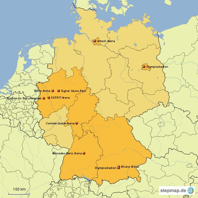größten stadien deutschland