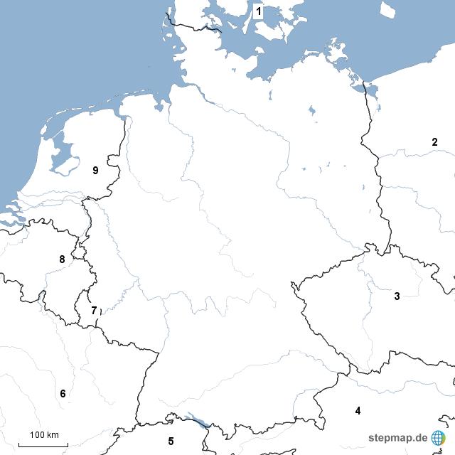 die nachbarstaaten deutschlands von ghoslo landkarte f r deutschland. Black Bedroom Furniture Sets. Home Design Ideas