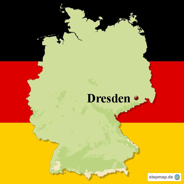 dresden von skimas03 landkarte f r deutschland. Black Bedroom Furniture Sets. Home Design Ideas