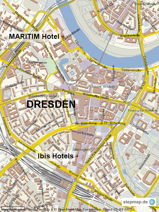 dresden von grafs reisen landkarte f r die welt. Black Bedroom Furniture Sets. Home Design Ideas