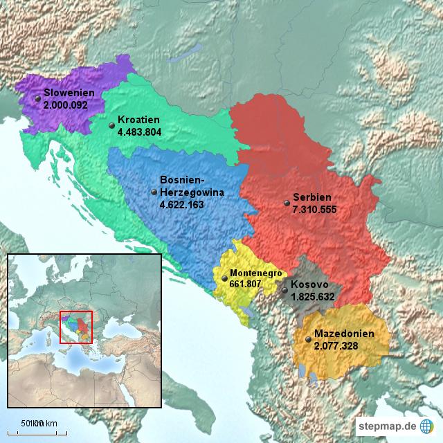 Ehemals Jugoslawien
