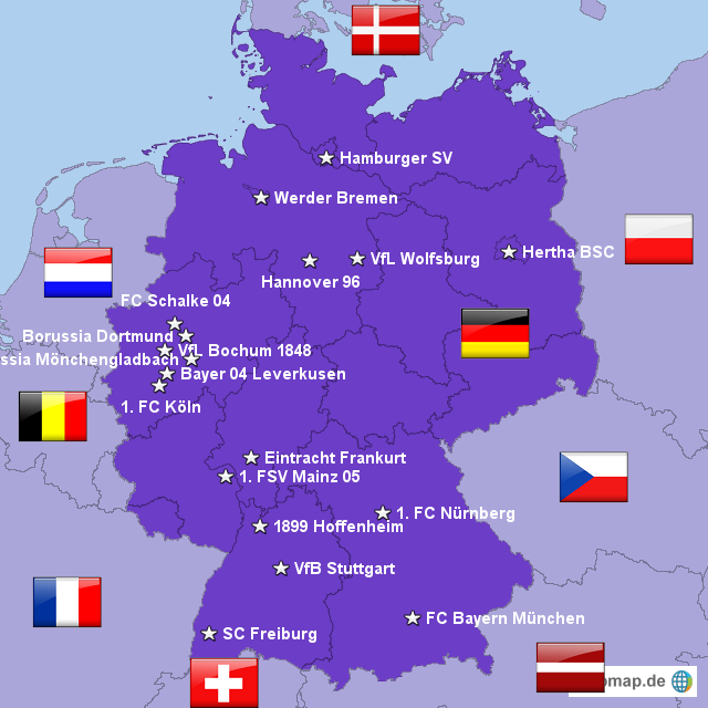 Erste Bundesliga Bitte