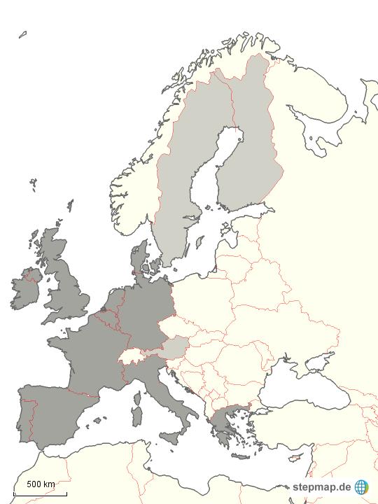 europa der 15 schwarz weiss von scheo 4teachers landkarte f r deutschland. Black Bedroom Furniture Sets. Home Design Ideas