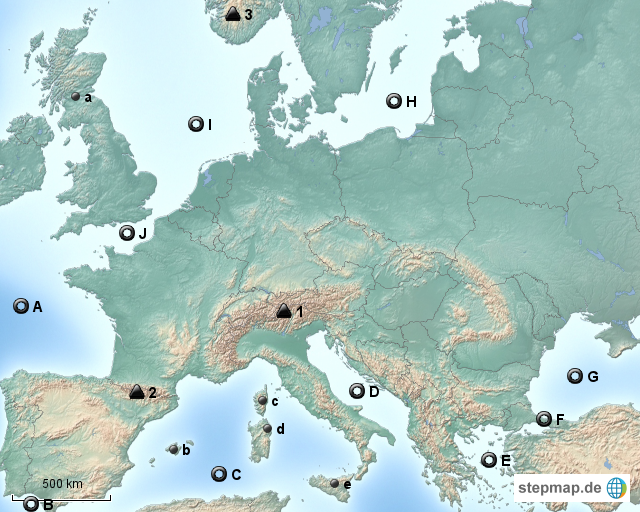 europa gebirge meere inseln von loewenstolz81 landkarte f r europa. Black Bedroom Furniture Sets. Home Design Ideas