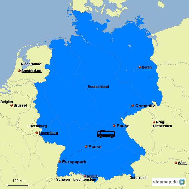 Europapark Deutschland Karte.Europapark Von Anne23 Landkarte Fur Deutschland
