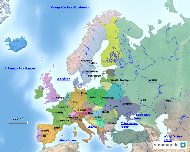 europa meere