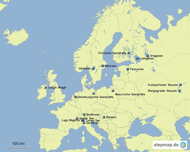 europas gr te seen von ruben mller landkarte f r deutschland. Black Bedroom Furniture Sets. Home Design Ideas