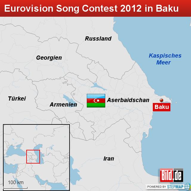 Baku Aserbaidschan Karte.Eurovision Song Contest 2012 In Baku Aserbaidschan 457 Von