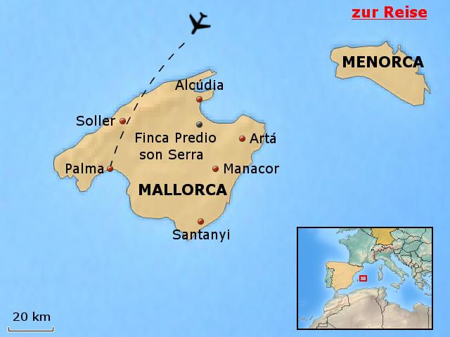 landkarte von mallorca spanien hanzeontwerpfabriek. Black Bedroom Furniture Sets. Home Design Ideas