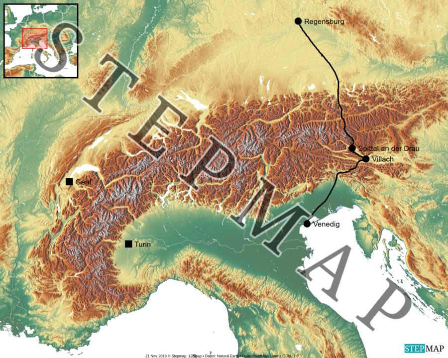 Landkarte: Fircks