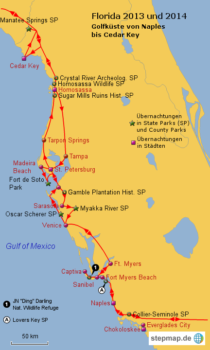 Golfküste Usa