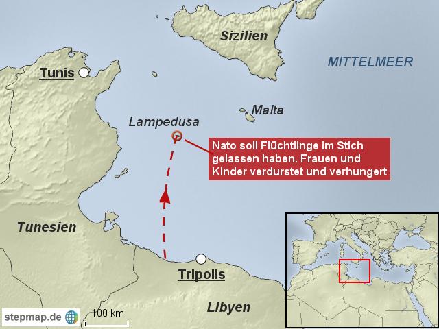 Italien Karte Lampedusa.Lampedusa Italien Karte Kleve Landkarte