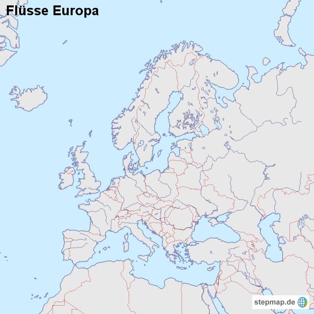europa flüsse