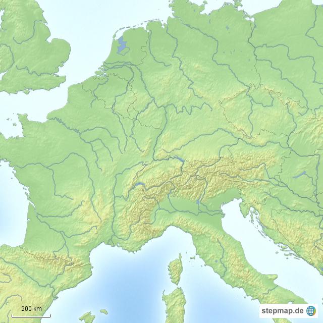 Landkarten welt europa deutschland deutschland karten flüsse europas