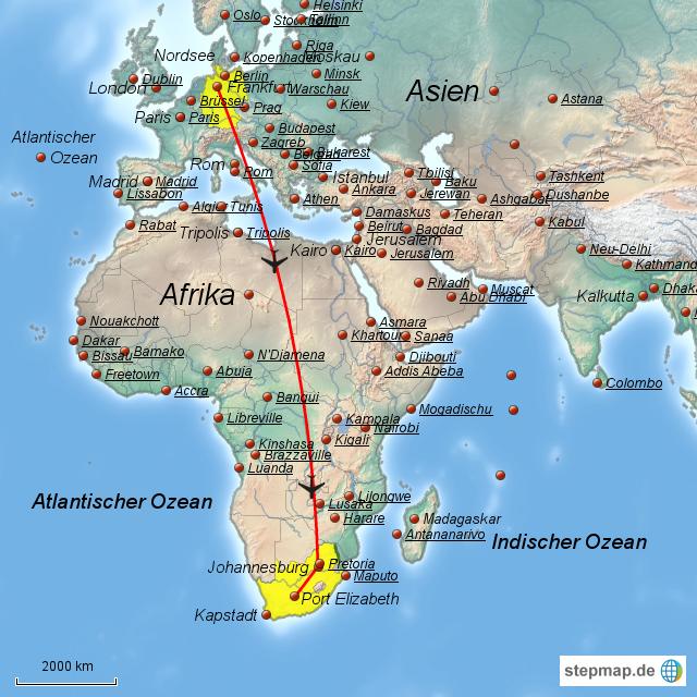 Картинки по запросу Порт Элизабет на карте