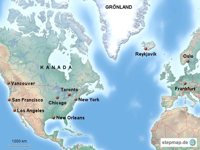 Startseite landkarten welt nordamerika nordamerika karten flug